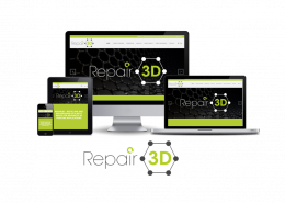 Repair3D - Logo and Website Design